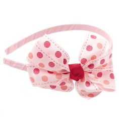 Dot Bow Headband