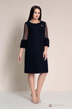 Новогодняя коллекция платьев для полных девушек и женщин