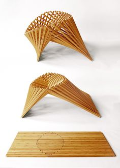 Rising Chair by Robert van Embricqs by Robert van Embricqs, via Behance