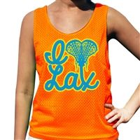 I Heart Lax Pinnie - Our 100% Polyester mesh pinnies combine comfort and performance. This reversible pinnie is moisture wicking and anti-microbial, keeping you dry, odor free and comfortable.
