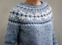 Glaswegian Cardigan pattern by Amy Christoffers Fair Isle Knitting Patterns, Knitting Charts, Knit Patterns, Norwegian Knitting, Icelandic Sweaters, How To Purl Knit, Cardigan Pattern, Knitting Projects, Knitwear