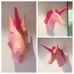 Unicórnio Rosa-Pink