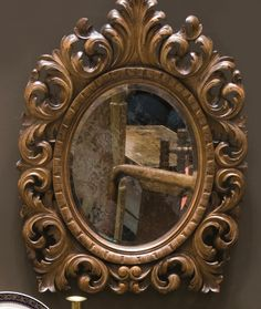 carving wood mirrors
