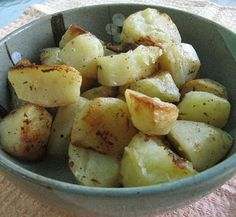 Barbecue Master: Grilled Greek Garlic Potatoes with Garlic Gold Olive Oil and Nuggets