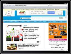 Così ci vedi dal tuo iPad quando visiti www.newsexpo2015.eu