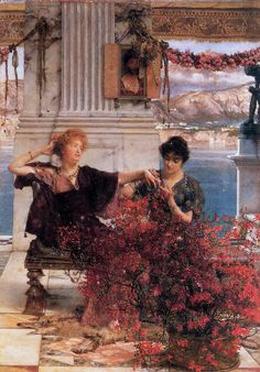 Alma Tadema Love-s Jewelled Fetter. Alma-Tadema, Lawrence • download painting • Gallerix.ru