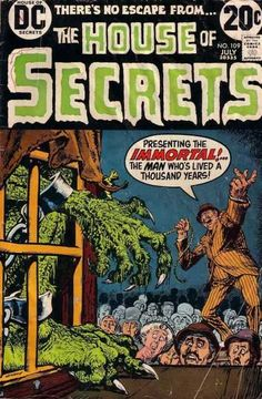 No 109 - July - Immortal - Thousand Years - Lived - Nick Cardy