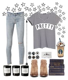 """#59"" by emma-danewa ❤ liked on Polyvore featuring AllSaints, MANGO, Byredo, Ella Doran, H by Hudson and CASSETTE"