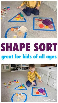 Have your tried Shape Sorting?