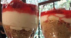 Cheesecake de Copo | Mais Você - Receitas Gshow