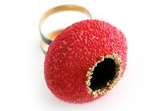 Annamaria Zanella - Ring, Gold, Silber, Glasperlen - www.galerie-stueh…