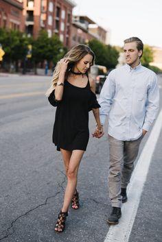 Photos by Sugar Rush Photo + Video || Salt Lake City || Downtown engagements || alternative Bride || Simple || Salt lake wedding Photographer || Salt air Engagements || Great salt lake
