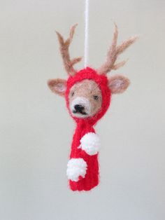 Image of Christmas Reindeer Ornament
