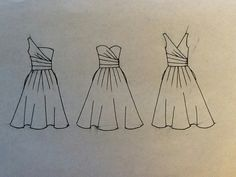 Dress design drawing, dress drawing easy, how to draw dress, sketch design, Dress Drawing Easy, Dress Design Drawing, Dress Design Sketches, Fashion Design Drawings, Sketch Design, Fashion Sketches, Wedding Dress Drawings, Drawings Pinterest, Fashion Drawing Dresses