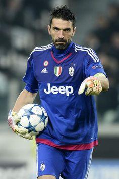 Gianluigi Buffon. Juventus-Manchester City