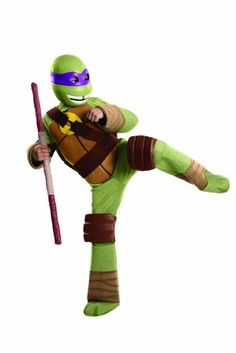 Teenage Mutant Ninja Turtles Deluxe Donatello Costume, Small -- Visit the image link more details.