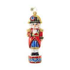 Christopher Radko Ornaments | Radko Nutcrackers The Nutty Dictator 1018986