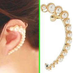 Beauty of Pearl Beauty Wrapping Ear Cuff (Single, No Piercing) | LilyFair Jewelry, $9.99!