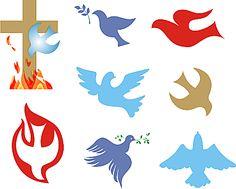 Christianity Symbols Illustrated Glossary: Christian Dove