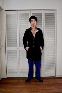 Y's Wardrobe: [roliat USED feit]80年代感も出したい!?ラインパンツと柄シャツとダッフルで。