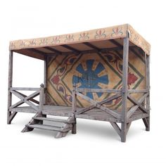 Themes » Medieval » Jousting Pavilion - maybe we could build this next year and have pony jousting...