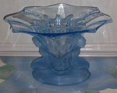 SALE: Art Deco Walther & Sohne 'Windsor' Table Centre Vase