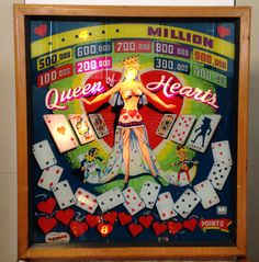 Queen of Hearts. Gottlieb, 1952.