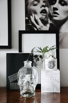 That photo is bad ass and I want that skull...and the sketch too!