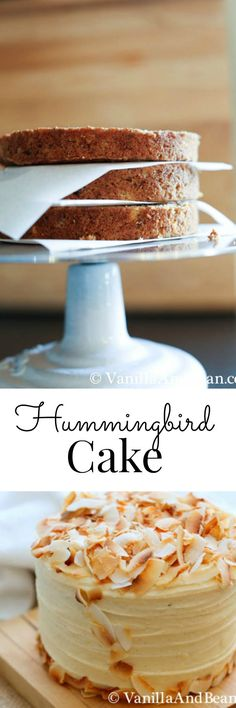 Hummingbird Cake with Lemon Cream Cheese Icing; a classic | Vanilla And Bean