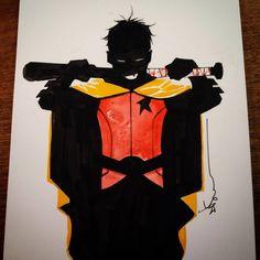 Robin Damian Wayne by Dustin Nguyen