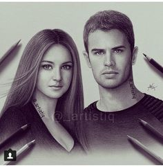 Divergent drawing from Instagram