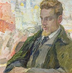 A portrait of Rainer Maria Rilke by Leonid Pasternak, father of Boris Pasternak. I have been reading Rilke for more than 30 years, and he still surprises me. His poetry goes deep into the heart of life, creating the sense that he and you are making discoveries together. I've posted my translation of one of his best known poems, along with a performance of the poem in German:  http://www.diehoren.com/2013/01/rilkes-encounter-with-ancient-greece-in.html
