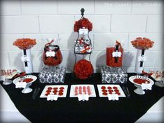 Creationz: Red and Black Candy Buffet