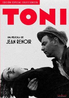 Toni (1935) - Dir. Jean Renoir Jean Renoir, Tans, Movies, Films, Books, Movie Posters, Provence, Woman, Documentary