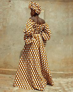 Shade of beige dress by bazarapagne - Long dresses - Afrikrea African Fashion Ankara, Latest African Fashion Dresses, African Print Dresses, African Wear, African Attire, African Dress, African Style, African Clothes, Beige Dresses