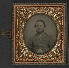 [Unidentified soldier in Confederate uniform] (LOC) | Flickr - Photo Sharing!