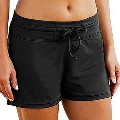 HolySnow Women's Stretch Board Short | Briefs Inner Lining | Comfort Quick Dry