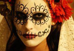 Fasching, Karneval, schminken