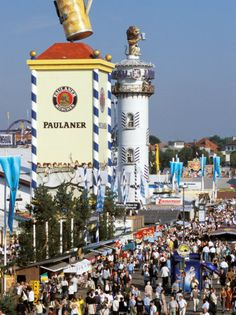 Oktoberfest - of course, you can't go to Germany for a year without visiting Munich for Oktoberfest! The Places Youll Go, Places To See, Places Ive Been, Munich Germany, Bavaria Germany, Grand Parc, Beer Festival, Parcs, Germany Travel