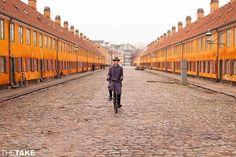 Location of the Week: The Nyboder housing district in Copenhagen Denmark seen in last year's Oscar winner #TheDanishGirl.