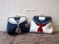 NO.S PROJECT is a uniquel brand that provides adults with playful designs and fantastic style without ever compromising on quality. The mission of the project is to create what people really want, and also to bring out the true beauty of women with various silhouettes and materials. The NO.S PROJECT Marine Pouch is perfect for lovers of the beach, as its sailor concept and gorgeous swinging charm ... #jfashion #kawaii