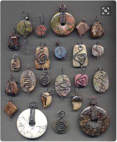 Multi wraps on stones