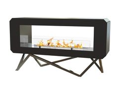 Freestanding bioethanol fireplace URBAN Crea7ion Collection by GlammFire