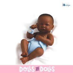 Estos encantadores bebés acaban de nacer. Con su pañal están listos para irse a su casita con mamá. Si te gusta hacer ropita para tus #muñecos, con estos muñecos básicos de #LaNewborn de #JCToys tendrás los modelos perfectos. ¡Estarán encantados de que les hagas ropita! Por sus expresiones casi reales, hay personas que utilizan estos muñecos para rebornear, por lo que si te gusta este arte, podrás practicar con ellos. #Dolls #DollsMadeInSpain #Berenguer #Bonecas #Poupées #Bambole