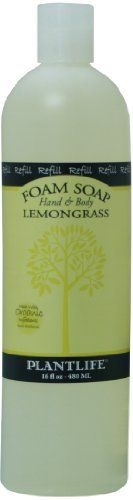 Lemongrass Hand & Body Foam Soap - 16oz Refill by Plantlife. $12.95. Made with 100% pure essential oils. Nothing synthetic and only clean, pure ingredients. This refill bottle must be used with Plantlife's 8.5 oz bottle with pump or other foamer. Simply pour liquid into pump bottle.