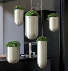 vaso moderno sospeso Floating Garden ASZTALOS