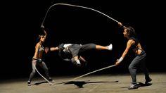 Seilspringen für Profis: Raw Art - J-Ropes