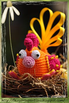 Easter hen by fairycats Creations - pattern by Vendula Maderska