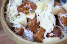 Barefeet In The Kitchen: Pineapple Teriyaki Chicken Bowls and Tacos Entree Recipes, Mexican Food Recipes, Real Food Recipes, Chicken Recipes, Cooking Recipes, Delicious Recipes, Keto Recipes, Yummy Food, Chicken Teriyaki Rezept