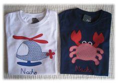 Estas camisetas son para Nacho y ya están en Algeciras. Su mama Mila, es el primer encargo que me hace y espero que le hayan gustado.      ...